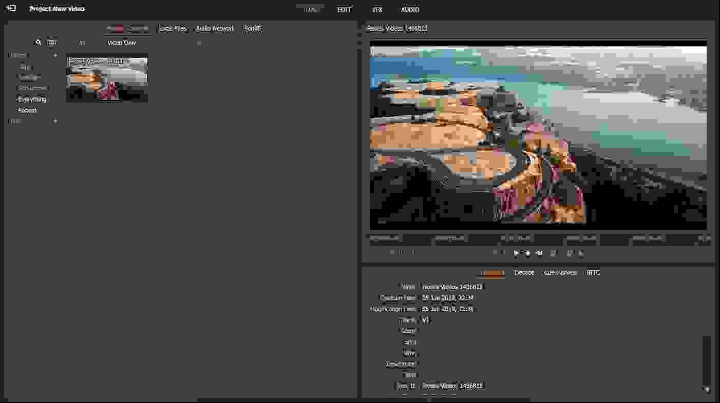 لايت ووركس (Lightworks)، أفضل برنامج تحرير فيديو مجاني من جميع النواحي