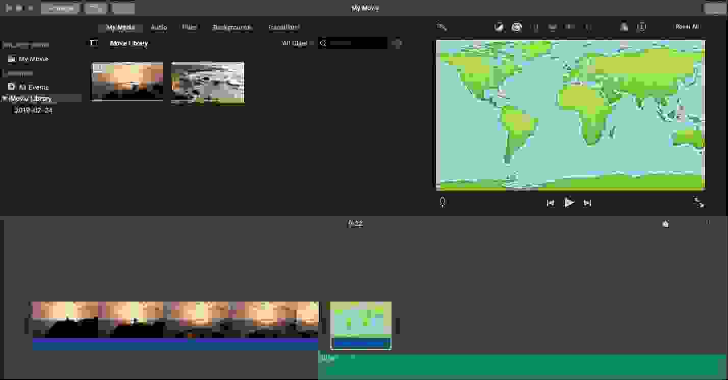 أي موفي (iMovie)، أفضل برامج تحرير الفيديو المجانية لـيوتيوب (YouTube)