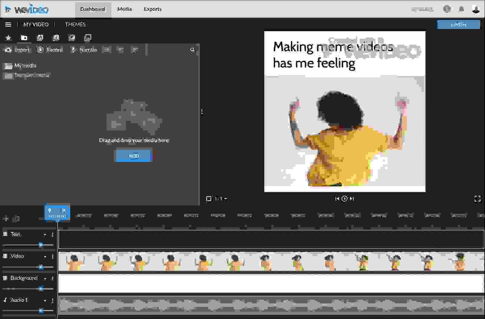 وي فيديو (WeVideo)، أفضل برنامج مجاني لتحرير الفيديو يعمل عبر الإنترنت مباشرةً
