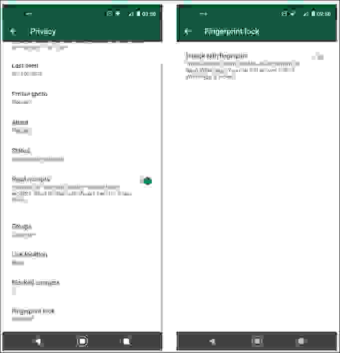 قفل واتساب (WhatsApp) لزيادة الخصوصية