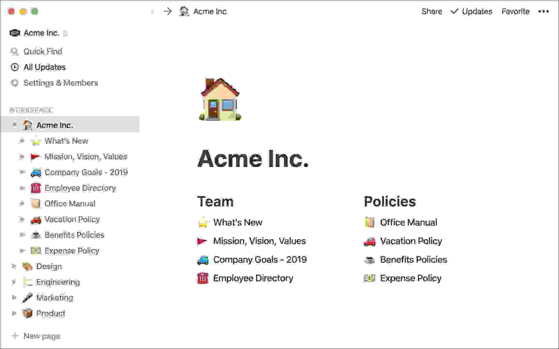 أفضل تطبيق تدوين ملاحظات لإدارة البيانات، نوشن (Notion)