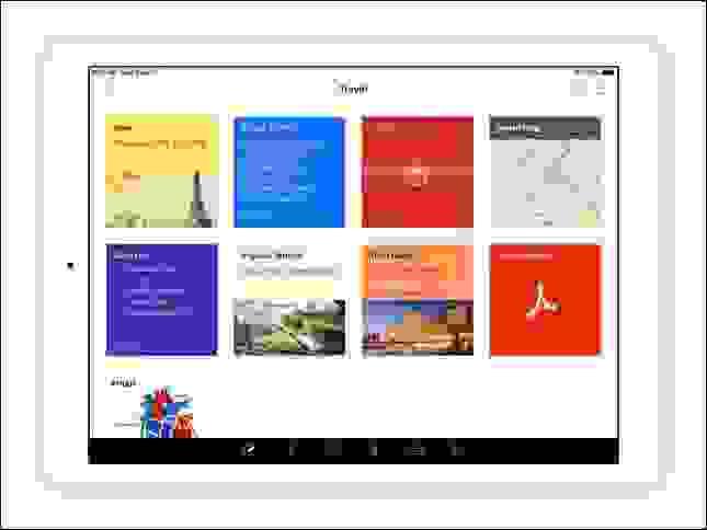 أفضل تطبيق تسجيل ملاحظات لمن يملكون أجهزة متعددة، تطبيق (Notebook) من شركة زوهو (Zoho)