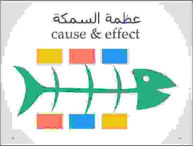 مخطط هيكل السمكة أو مخطط السبب والنتيجة