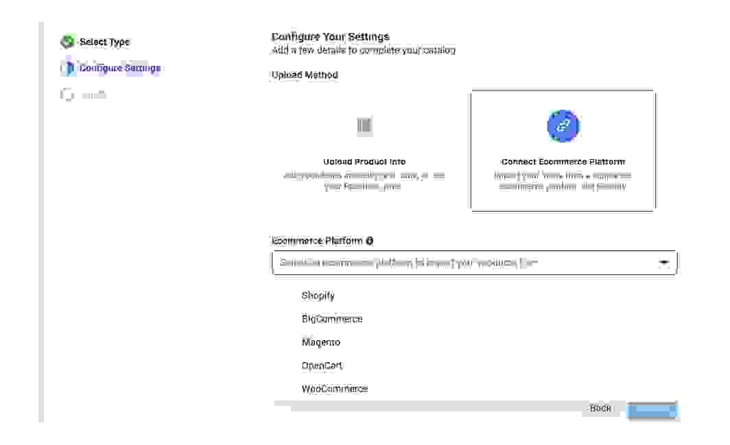 دمج قاعدة بيانات من منصة تجارة إلكترونية