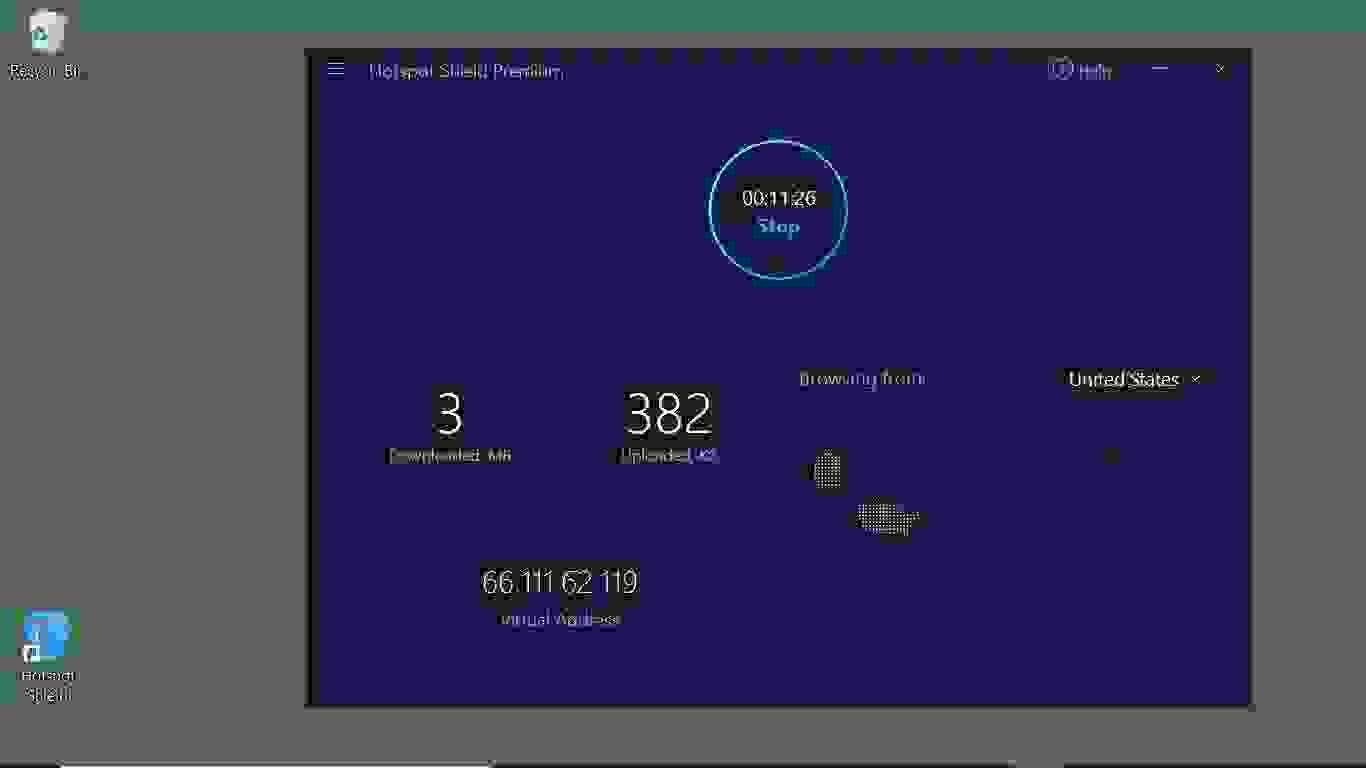 أداء برنامج هوت سبوت شيلد، سرعة جيدة مع بعض مشكلات الاتصال