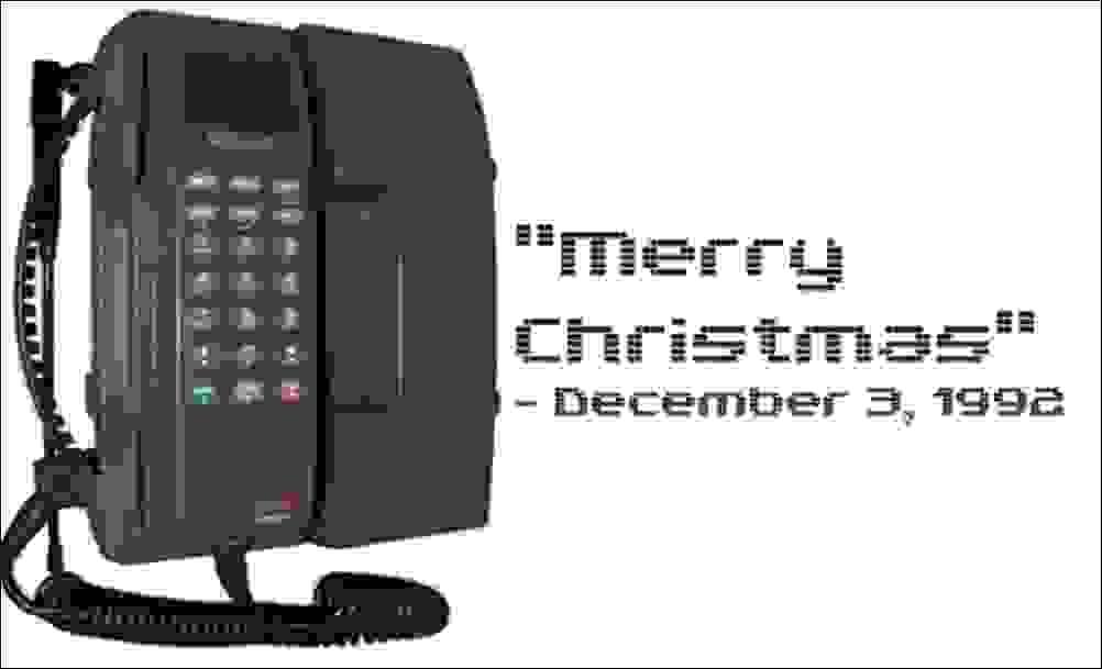 الرسائل النصية عام 1992