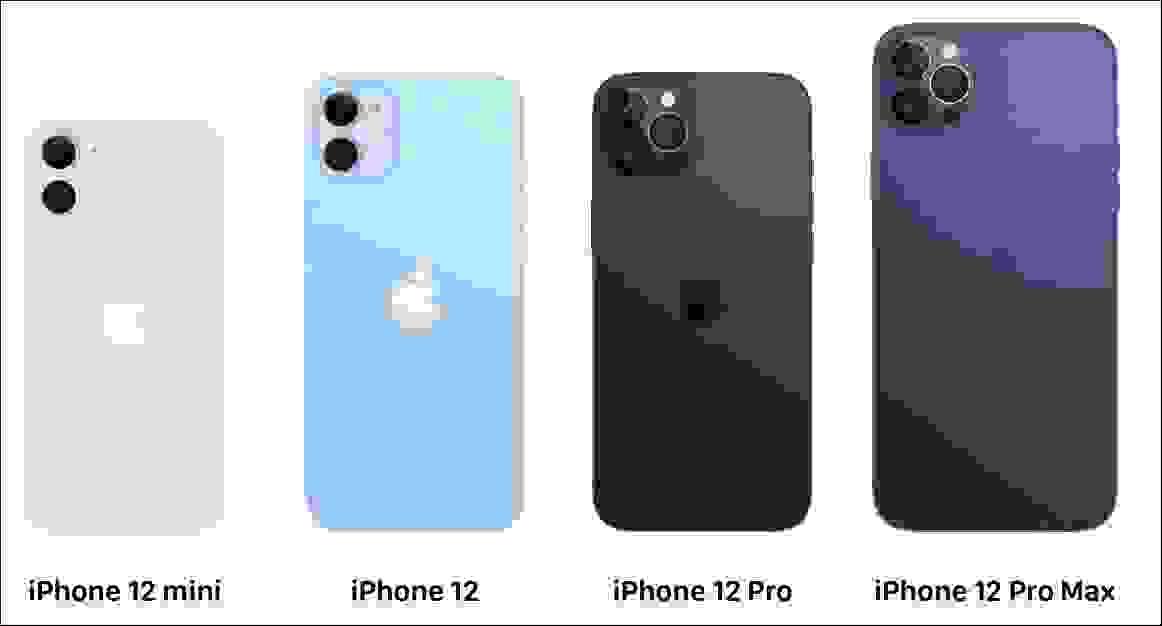 مواصفات هواتف أيفون 12 (iPhone 12)