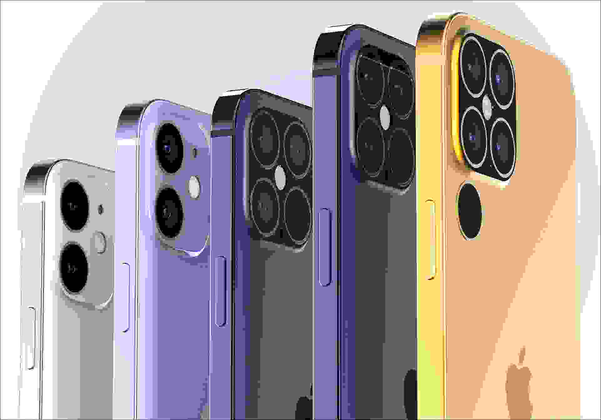 ألوان أيفون 12 (iPhone 12)