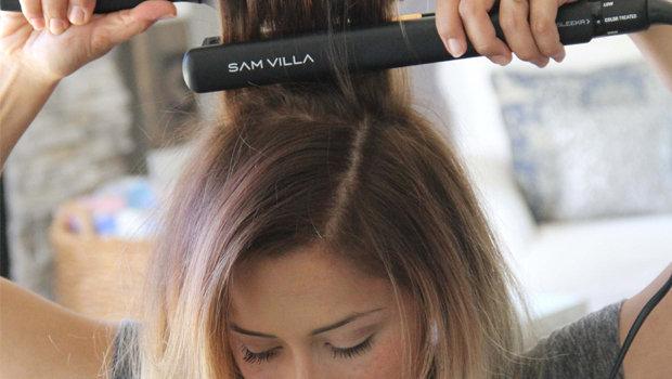 استخدام الحرارة والمنتجات الكيميائيّة تؤثر على الشعر
