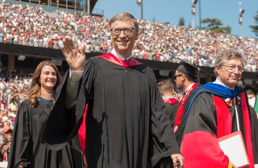 Bill Gates Bachelor Graduation 1995