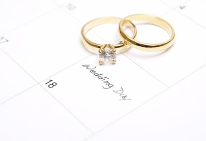 اختيار المكان الذي سيقام به الزفاف