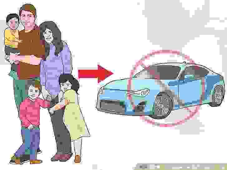 تجنَّب السيارات ذات البابين إذا كان عدد أفراد عائلتك أكثر من شخصين