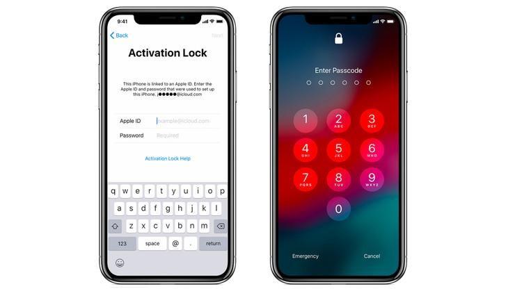 إزالة خيار الكشف عن iPhone الخاص بك