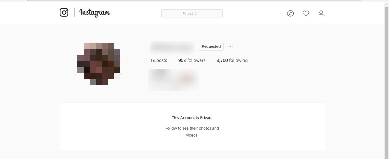كيف يمكنك إلغاء طلب المتابعة الذي قُمْتَ بإرساله على Instagram
