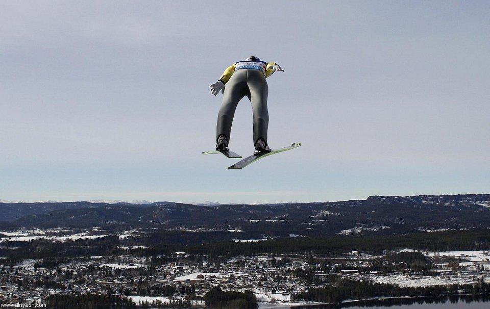 رياضة التزلج بالهواء
