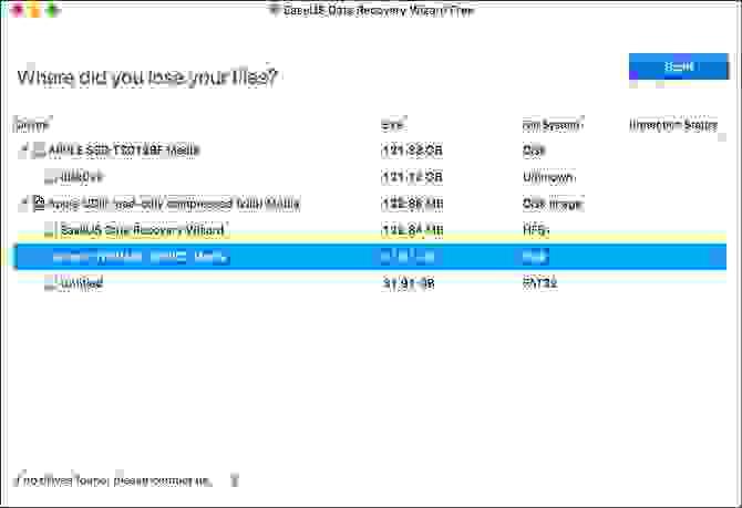 استعادة الصور المحذوفة باستخدام برنامج EaseUS Data Recovery
