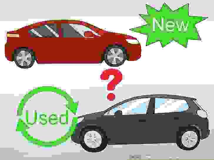 حدد إن كنت تريد سيارةً جديدةً أم مستعملة