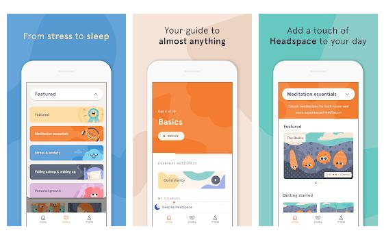 تطبيق Headspace: Meditation & Sleepa
