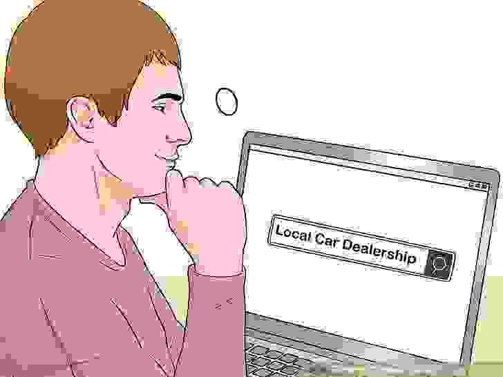 ابحث عن وكالات السيارات المحلية عبر الإنترنت