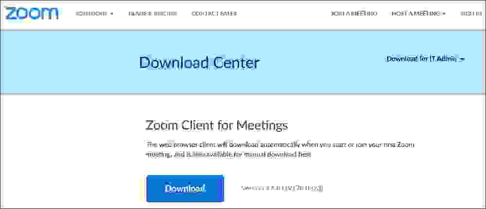 تحميل برنامج زوم لكمبيوتر ويندوز 10