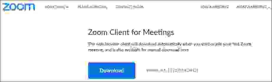 تحميل برنامج محادثات الفيديو زوم (Zoom meetings) للكمبيوتر