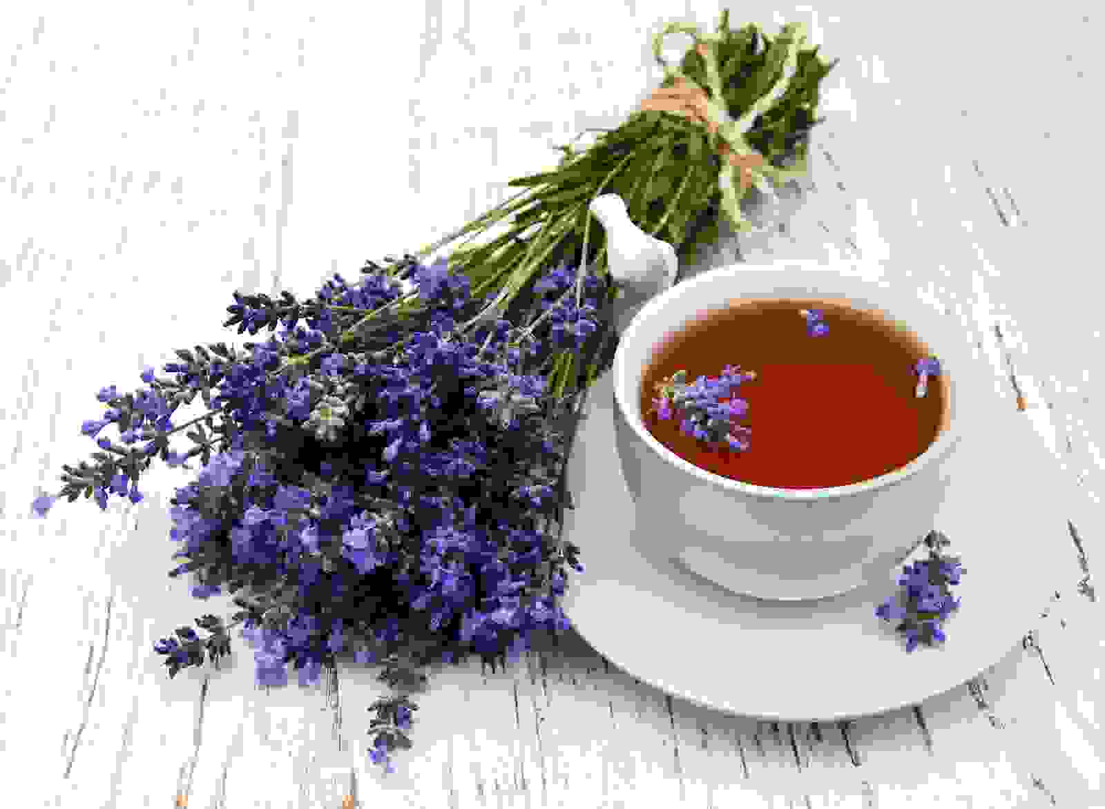 شاي اللافندر